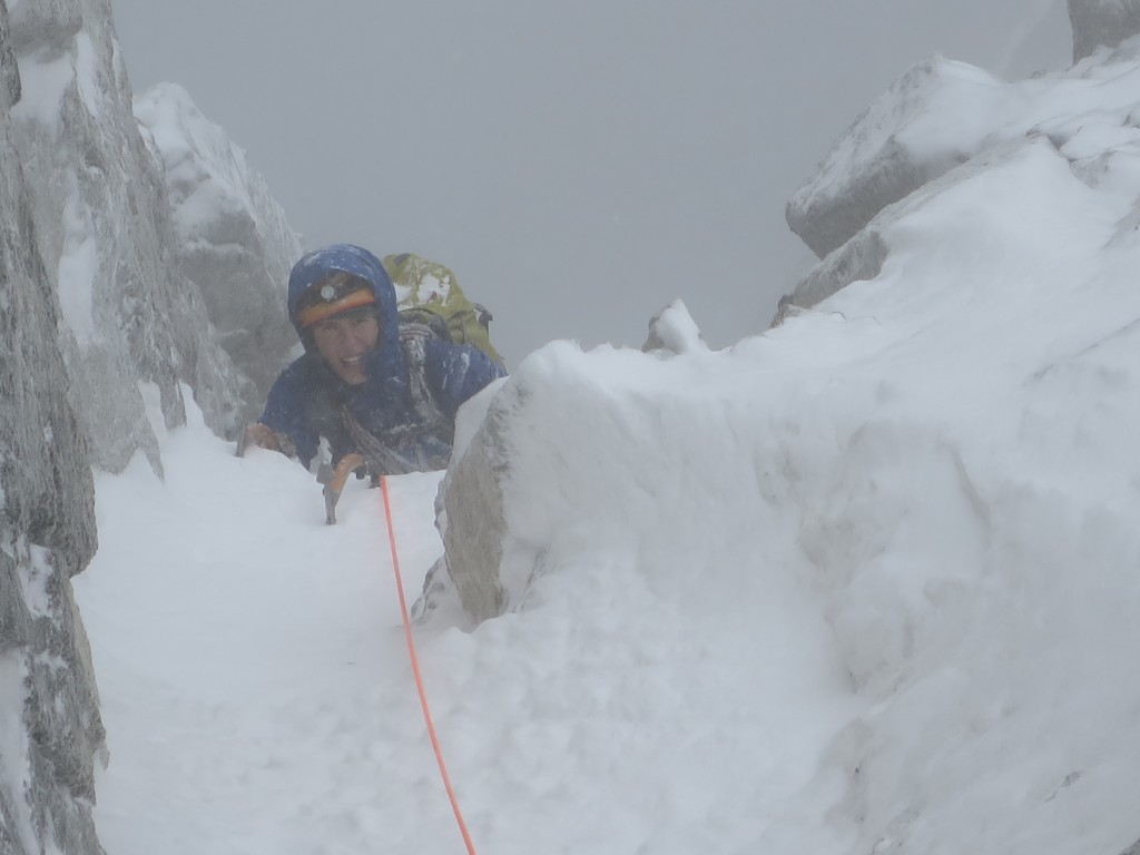 Juho exits the last mixed pitch.